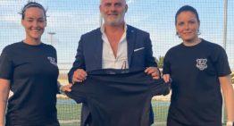 El CF Cabanyal-Canyamelar Femenino cautiva al empresario italiano Mauro Mancuso