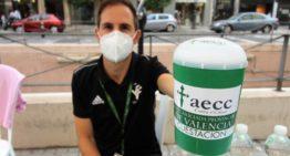 La FFCV se sumó un año más al Día Internacional de la Investigación en cáncer de la AECC de València