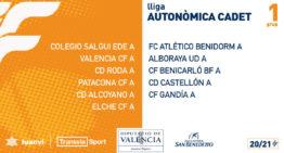 Ya son oficiales los calendarios de Liga Autonómica Cadete FFCV 20-21
