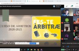 Más de 350 alumnos han comenzado el curso de arbitraje FFCV en su modalidad online