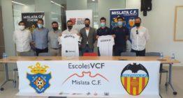 El Mislata CF se une al programa de 'Escoles Conveniades' del Valencia CF