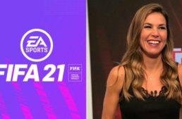 Nira Juanco, primera mujer en narrar el FIFA: 'Es un paso importante para que cada vez nos incluyan más'