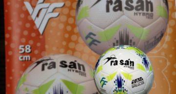 Rasan proporcionará a la FFCV el balón oficial de la temporada 20-21 de fútbol sala