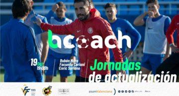 Las Jornadas de Actualización del nuevo curso se abrirán el lunes 19 de octubre con Rubén Mora y la app bcoach