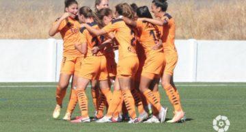 El VCF Femenino sufre y remonta para empezar la temporada 20-21 con aires distintos a la anterior (1-2)