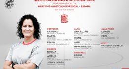 Convocatoria de la selección femenina de fútbol sala para los amistosos ante Portugal