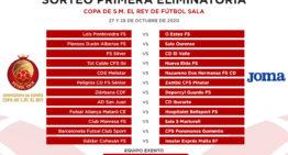 Ibi y Nueva Elda se verán las caras en la primera eliminatoria de Copa del Rey de futsal
