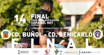La final de la fase de clasificación de la Copa del Rey se jugará entre CD Buñol y CD Benicarló