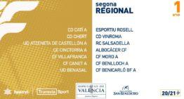 ¡Vamos allá! Calendarios confirmados de los 17 grupos de Segunda Regional FFCV masculina