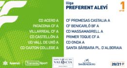 Adiós Superligas: confirmados los integrantes de los nuevos 5 grupos de Ligas Preferente Alevín Segundo Año 20-21