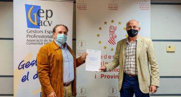 GEPACV y FVMP firman el protocolo para actividad del deporte y el uso de instalaciones deportivas