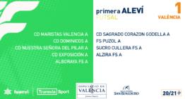 Confirmados los grupos 20-21 de Alevines, Benjamines y Prebenjamines de fútbol sala
