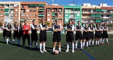 La familia del CF Cabanyal-Canyamelar Femení visita el tercer 'Valenta Radio' de la temporada