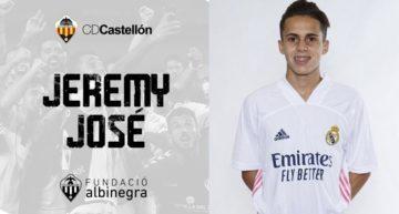 El Juvenil A del CD Castellón se refuerza con el madridista Jeremy José