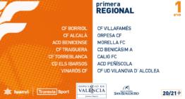 Los 10 grupos de Primera Regional Aficionados ya tienen a punto sus calendarios 2020-2021