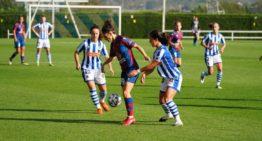 El Levante Femenino se queda sin puntuar en el último suspiro ante la Real Sociedad (2-3)