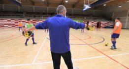 La Selecció FFCV futsal masculina Sub-19 fue la primera en regresar a los entrenamientos
