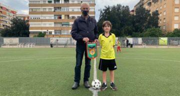 VÍDEO: CD Malilla incentiva la pasión por el arbitraje del joven Mario Pérez