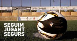 La FFCV agradece que, a pesar de la prohibición de acceso al público, la Conselleria de Sanitat mantenga el fútbol en marcha