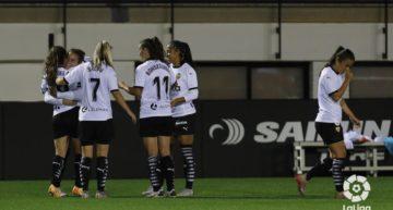 Una exhibición ofensiva le da al Valencia la victoria ante el Santa Teresa (5-0)