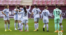 El Valencia se encomienda a la épica y rescata un punto en su visita a Logroño (2-2)