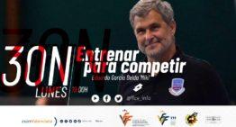 Eduardo García Belda 'Miki' ofrecerá la charla online 'Entrenar para competir' el próximo 30 de noviembre