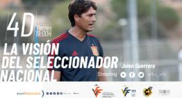 Charla online de Julen Guerrero el próximo 4 de diciembre: 'La visión del seleccionador nacional'