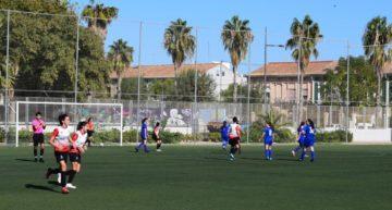 El infantil-cadete femenino del Ciutat de Xàtiva CFB empieza la temporada ganando