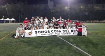 El CD Buñol hace historia en Gran Canaria y jugará la Copa del Rey en la temporada de su centenario (0-1)