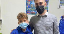 Beca solidaria a un niño de 12 años para que pueda jugar esta temporada en el CF Benidorm