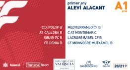 Los veintidós grupos de Alevines de Alicante 20-21 ya tienen a sus integrantes confirmados