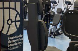La sala de musculación del Polideportivo Cabanyal Canyamelar se renueva