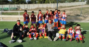 Una lección de fair-play de los prebenjamines del Atlético Moncadense