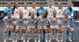 Cuatro jugadoras del Universidad de Alicante, convocadas por las Selecciones absoluta y Sub-21 de futsal
