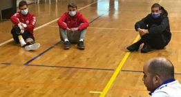 Consejos de fisioterapia para la Selecció masculina Sub-19 de futsal
