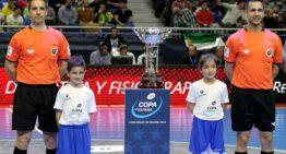 Los árbitros valencianos Rabadán y Delgado dirigirán las Copas del Rey y la Reina de futsal 19-20