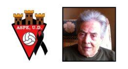 El fútbol de Aspe llora la muerte de Nieves 'La Paletilla'
