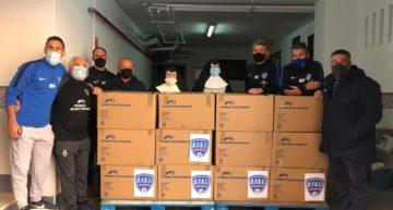 CF Inter San José multiplica su solidaridad en 2020 y dona 900 kg de alimentos no perecederos