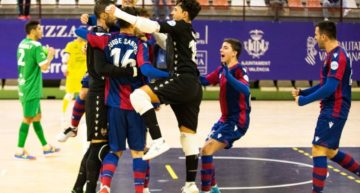 El Levante FS conocerá el próximo lunes su rival en cuartos de la Copa del Rey