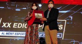 Teika recibió el Premi al Mèrit Esportiu Ciutat de València 2019