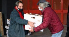 El Valencia CF y World Central Kitchen repartieron más de dos mil menús a 22 asociaciones y ONG en Nochebuena