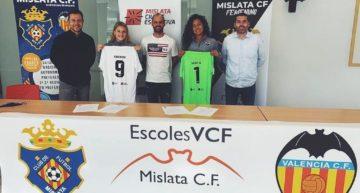 Alexis Mata e Izzie Leuken, talento estadounidense en el Mislata CF