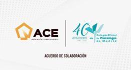 Convenio entre Asociación de Clubes de e-Sports y el Colegio de la Psicología de Madrid