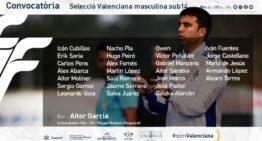 La Selecció Valenciana Sub-14 masculina volverá a entrenarse el 9 de diciembre