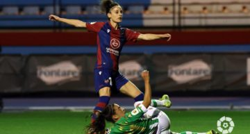 Solvencia y buenas sensaciones del Levante Femenino en su victoria ante el Betis Féminas (0-2)