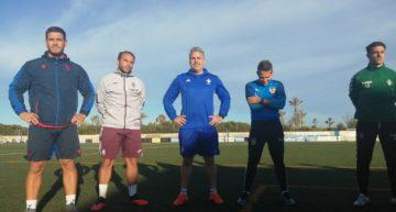 Arranca la fase práctica del I Curso de especialista en entrenamiento de porteros