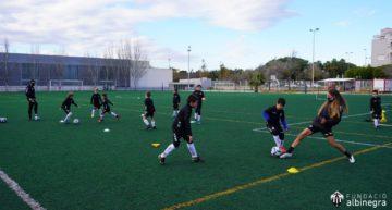 Pistoletazo al III Campus Albinegro de Navidad del CD Castellón
