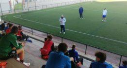 El fisio Roberto Nácher ofreció una charla formativa sobre prevención de lesiones a la Selecció Valenciana Sub-14
