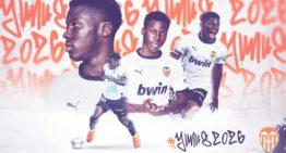 El juvenil Yunus Musah renueva por el València CF hasta 2026