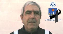 El fútbol base del Villajoyosa CF se tiñe de luto: falleció su entrenador Enrique Reche